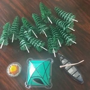 Other - Camping cake decorating set
